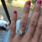Aly Michalka Engagement Ring