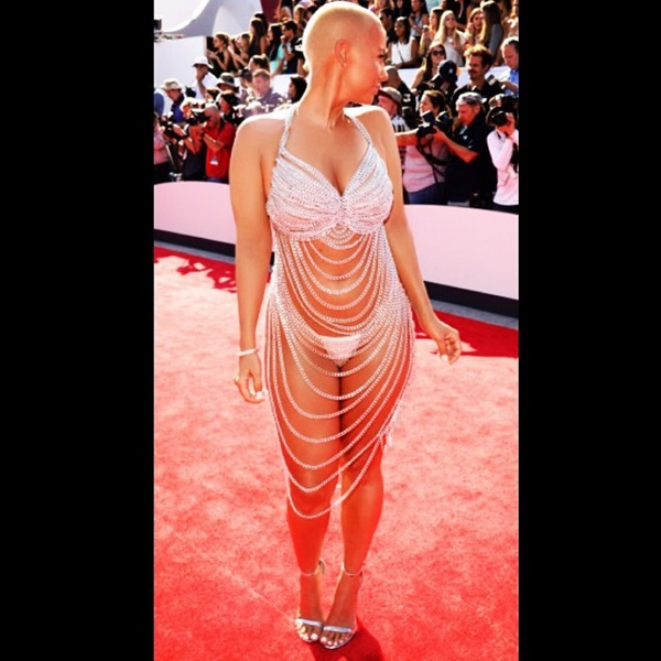 Amber Rose VMA Dress Photos