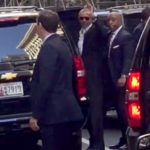 Barack Obama Cheered By Crowd At New York City Starbucks