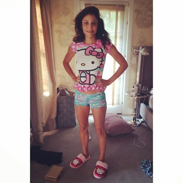 Bethenny Frankel in Daughter Clothes