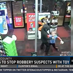 Boy fights armed robbers and is  hailed  a hero