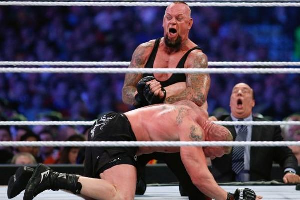 Brock Lesnar Heat Batista