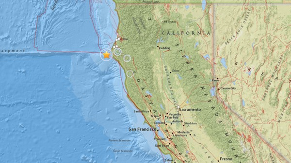 Earthquake Northern California 2015