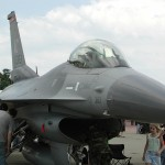 Close Call At Air Show For F-16, Crowd Ducks And Covers