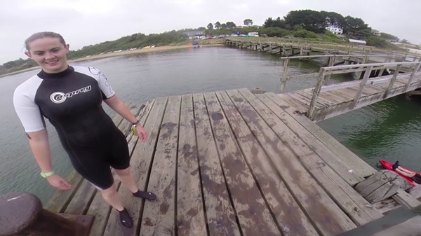 Fisherman catches lost GoPro