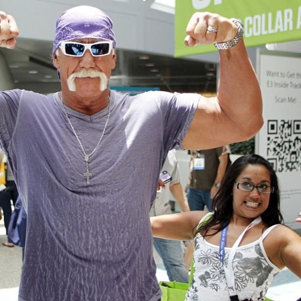 Hulk Hogan Training Photos