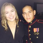 Ronda Rousey 'Real Sweetheart' Date At Marine Corps Ball: Jarrod Haschert Wows Fighter