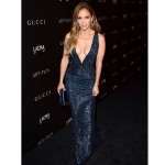 Jennifer Lopez Red Carpet LACMA: Star, 45, Stuns In Blue Dress