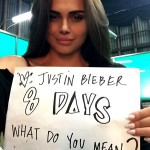 Justin Bieber Dating Again ? Crooner Linked To Playboy Model Xenia Deli