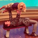 Kelly Ripa Guest Host Mark Consuelos Proves His Fitness