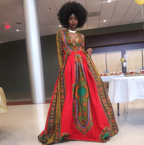 Kyemah McEntyre dress