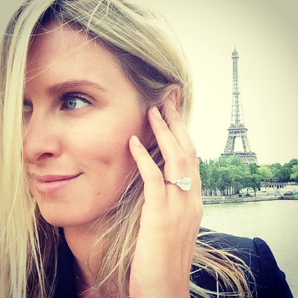 Nicky Hilton Engagement Ring: Nicky Debuts Giant Ring