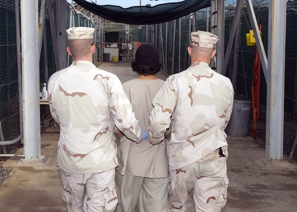 Nine Guantanamo detainees
