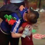 Portuguese boy consoles French fan and video will melt your heart