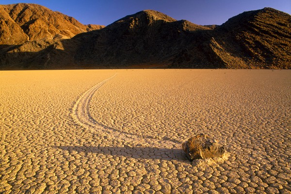 Racetrack Playa Mystery Photo
