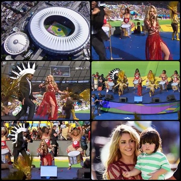 Shakira Milan World Cup