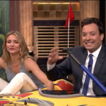 Cameron Diaz Rips Drew Barrymore Tryst Rumor, Beats Jimmy Fallon In Kayak Race
