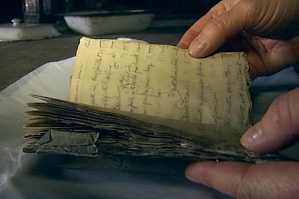 century old note found